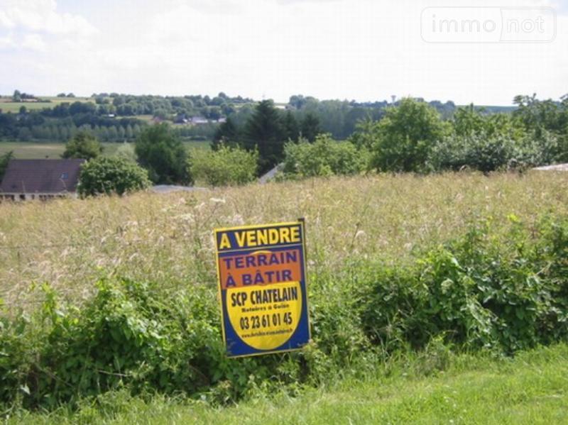 Terrain a batir a vendre Malzy 02120 Aisne 2915 m2  23900 euros