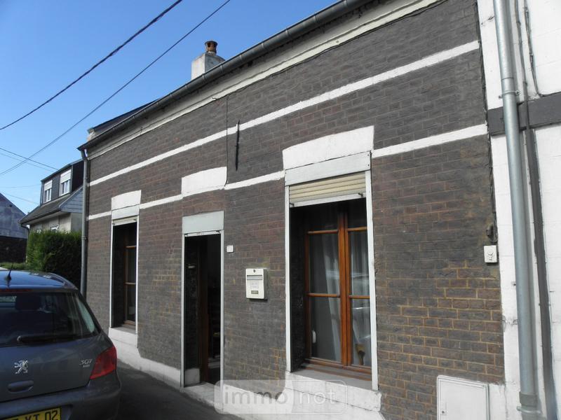 Maison a vendre Guise 02120 Aisne 60 m2 3 pièces 53000 euros