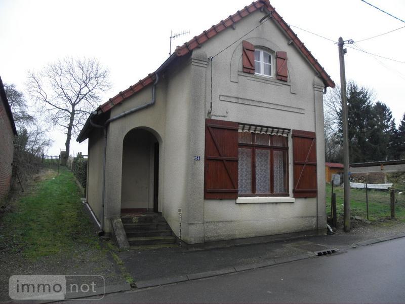 Achat maison a vendre grougis 02110 aisne 57 m2 3 pi ces for Achat maison 57