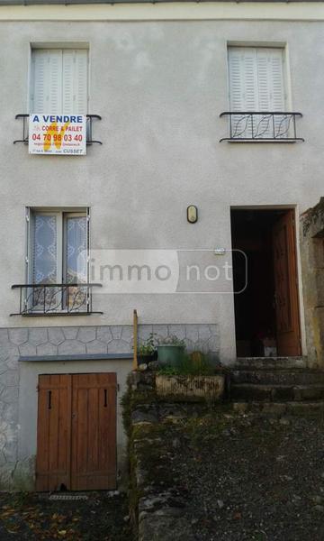 Maison a vendre Ferrières-sur-Sichon 03250 Allier 93 m2 4 pièces 48000 euros
