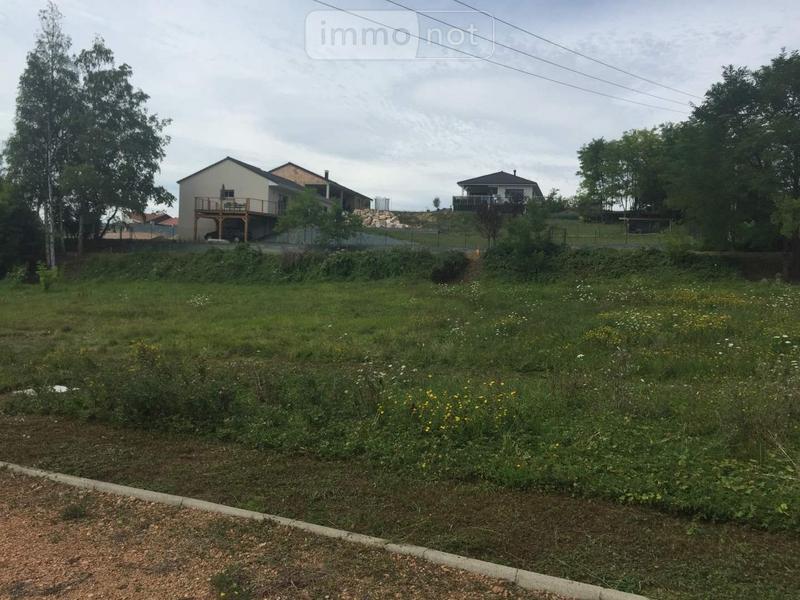 Terrain a batir a vendre Abrest 03200 Allier 1048 m2  50000 euros