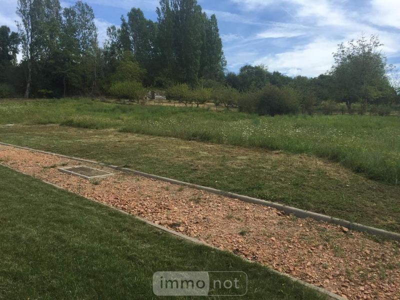 Terrain a batir a vendre Abrest 03200 Allier 1245 m2  60000 euros