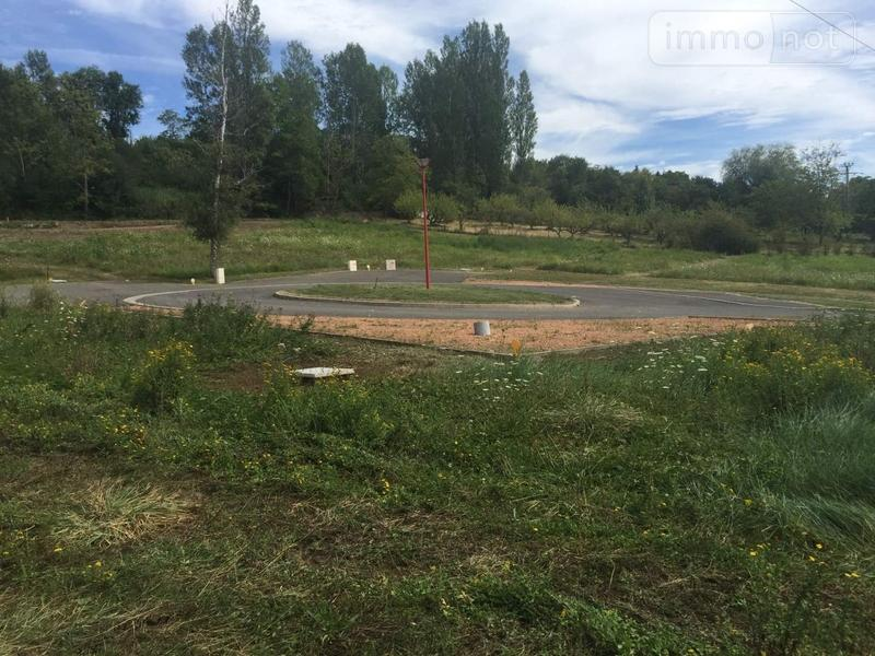 Terrain a batir a vendre Abrest 03200 Allier 1330 m2  65000 euros