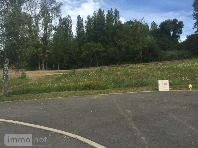 Terrain a batir a vendre Abrest 03200 Allier 1426 m2  68000 euros