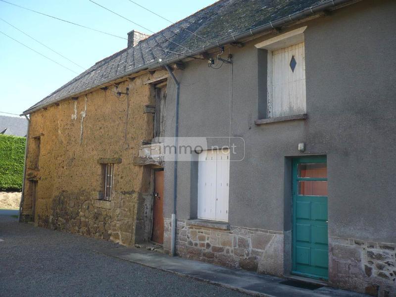 Maison a vendre Broons 22250 Cotes-d'Armor 50 m2 3 pièces 18550 euros