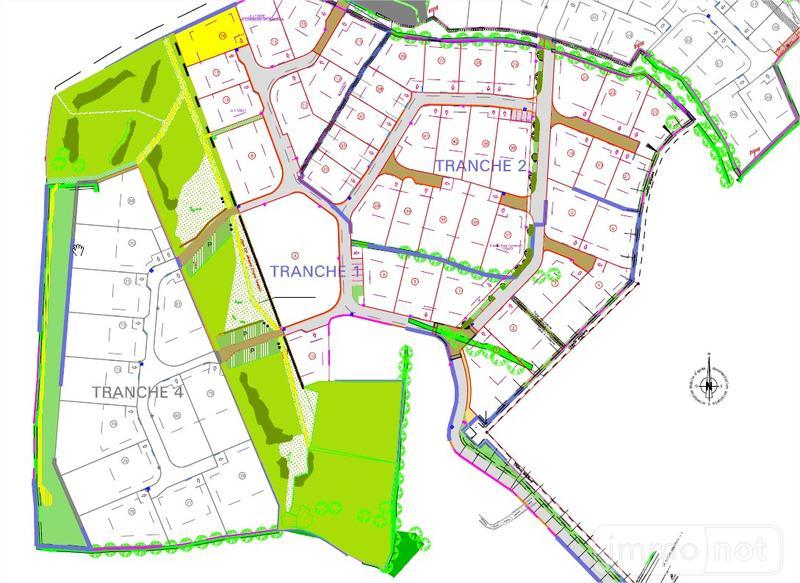 Terrain a batir a vendre Pencran 29800 Finistere 370 m2  39220 euros