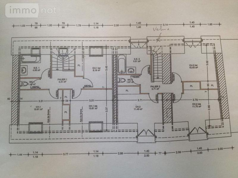 Maison a vendre Liffré 35340 Ille-et-Vilaine 180 m2 5 pièces 374000 euros