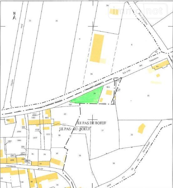 Terrain a batir a vendre Saint-Georges-de-Gréhaigne 35610 Ille-et-Vilaine 740 m2  26499 euros