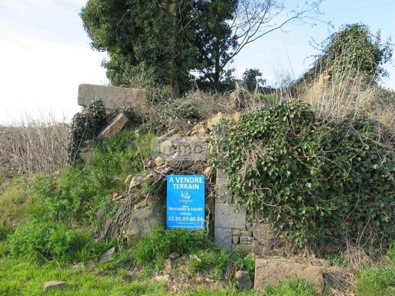 Terrain a batir a vendre Bazouges-la-Pérouse 35560 Ille-et-Vilaine 1055 m2  21200 euros