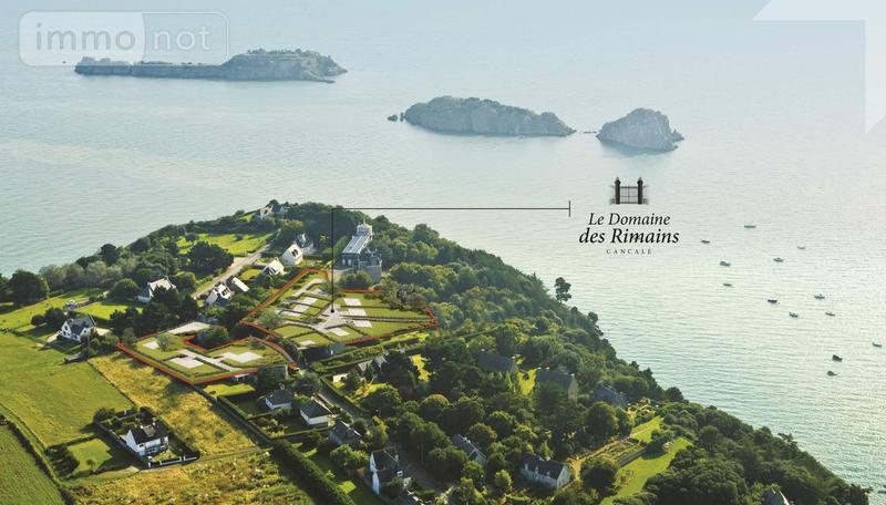 Terrain a batir a vendre Cancale 35260 Ille-et-Vilaine 873 m2  238100 euros