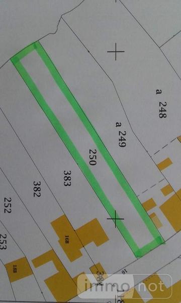 Terrain a batir a vendre Argenton-sur-Creuse 36200 Indre 705 m2  15000 euros