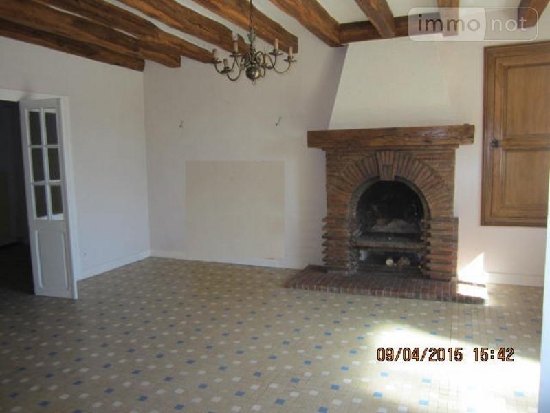 Maison a vendre Crouzilles 37220 Indre-et-Loire 185 m2 7 pièces 274400 euros