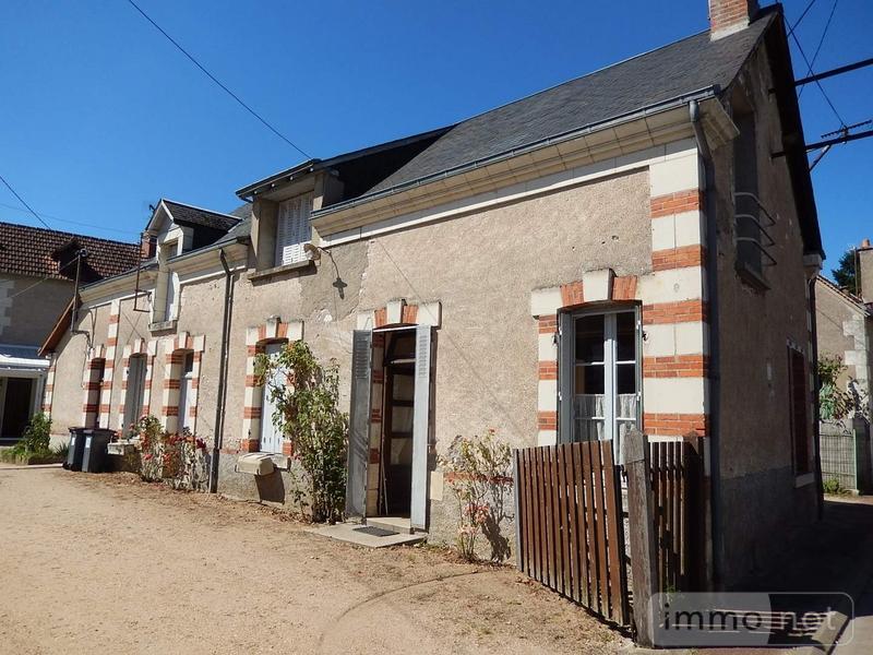 Maison a vendre Meusnes 41130 Loir-et-Cher 123 m2 6 pièces 74200 euros