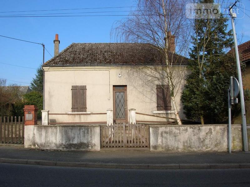 Maison a vendre Châtres-sur-Cher 41320 Loir-et-Cher 46 m2 2 pièces 40280 euros