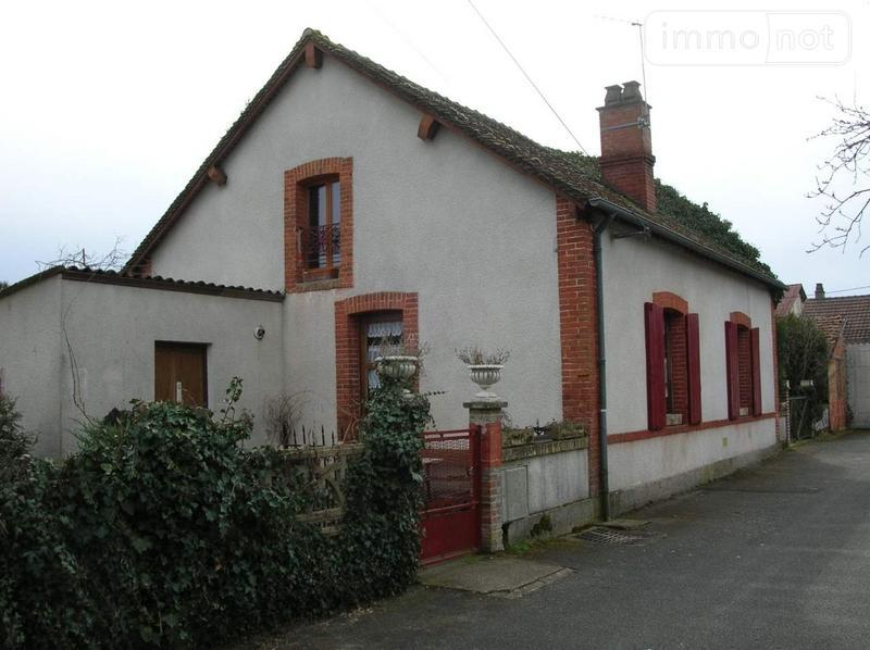 Maison a vendre Salbris 41300 Loir-et-Cher 85 m2 3 pièces 65000 euros