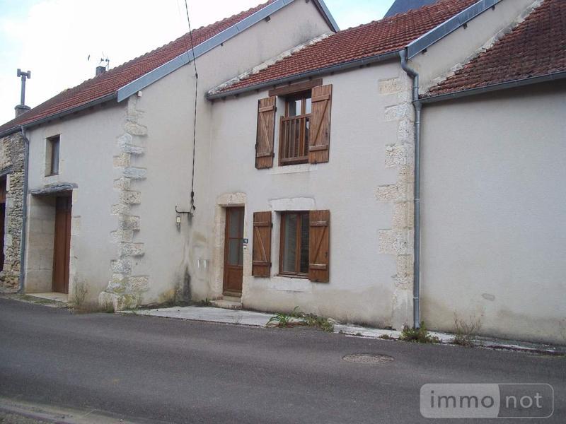 Maison a vendre Vitry-en-Montagne 52160 Haute-Marne 4 pièces 108000 euros