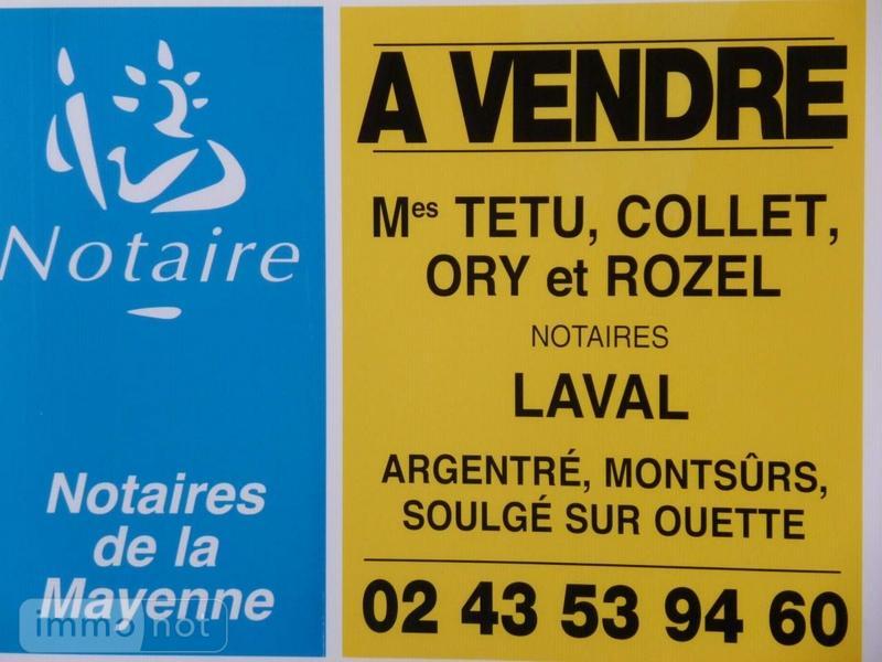 Terrain a batir a vendre Saint-Denis-d'Orques 72350 Sarthe 2968 m2  28314 euros
