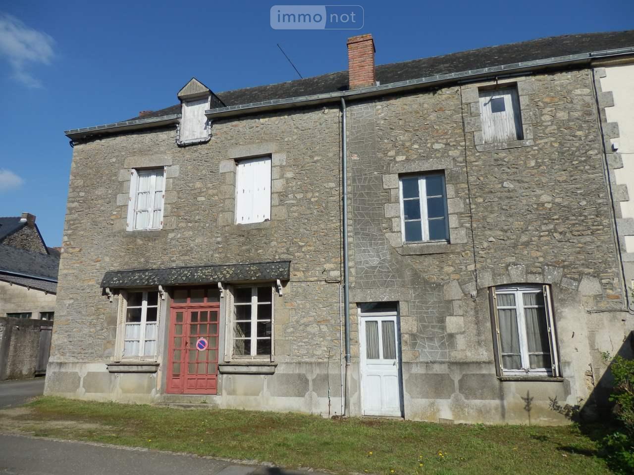 Maison a vendre Hambers 53160 Mayenne 90 m2 6 pièces 47700 euros