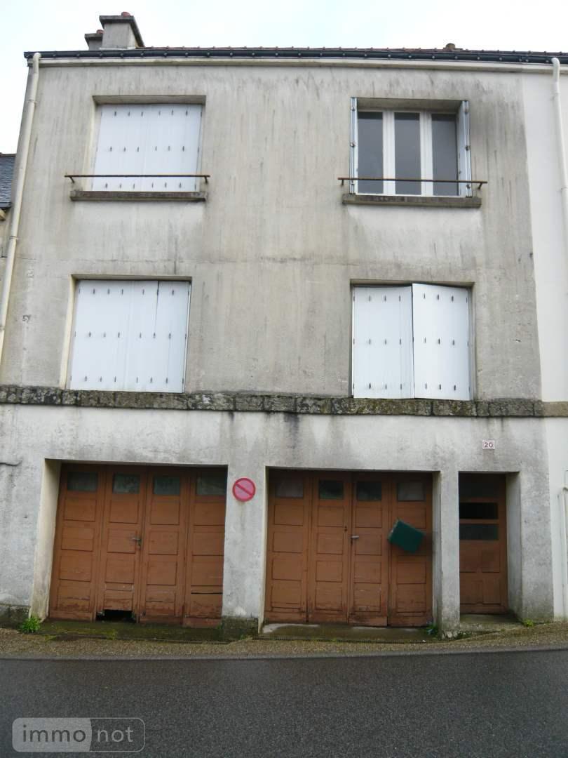 Maison a vendre Guern 56310 Morbihan 4 pièces 37100 euros