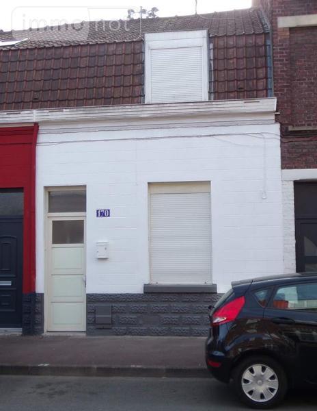 Maison a vendre Roubaix 59100 Nord 70 m2 4 pièces 121680 euros