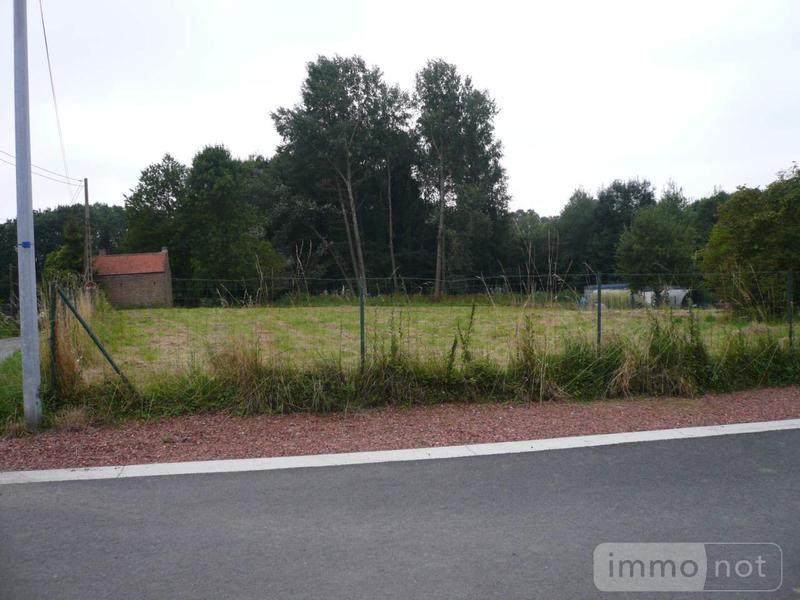 Terrain a batir a vendre Honnecourt-sur-Escaut 59266 Nord 1712 m2  58022 euros