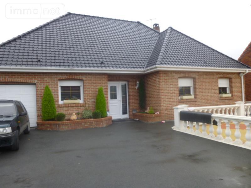 Maison a vendre Hulluch 62410 Pas-de-Calais 128 m2 5 pièces 331000 euros