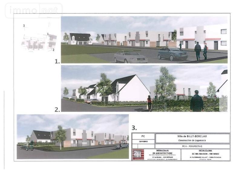 Maison a vendre Billy-Berclau 62138 Pas-de-Calais 76 m2 3 pièces 136900 euros