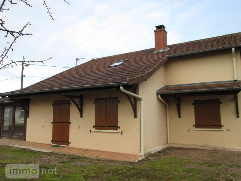 Maison a vendre Curdin 71130 Saone-et-Loire 168 m2 8 pièces 166200 euros