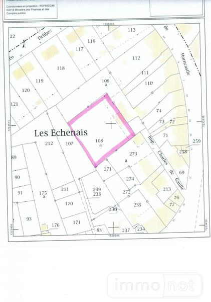 Terrain a batir a vendre Bonnétable 72110 Sarthe  31800 euros