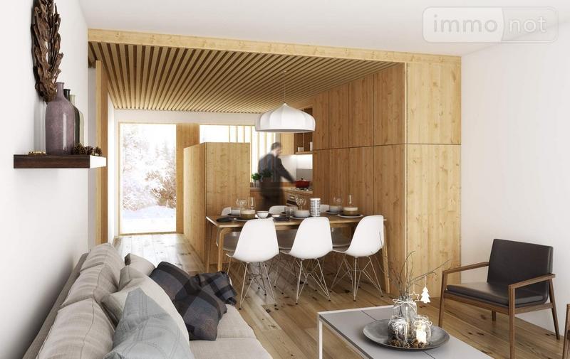 Appartement a vendre Châtel 74390 Haute-Savoie 63 m2 3 pièces 410000 euros
