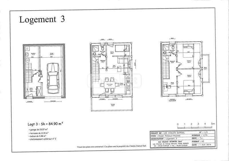 Appartement a vendre Bernex 74500 Haute-Savoie 85 m2 4 pièces 315522 euros