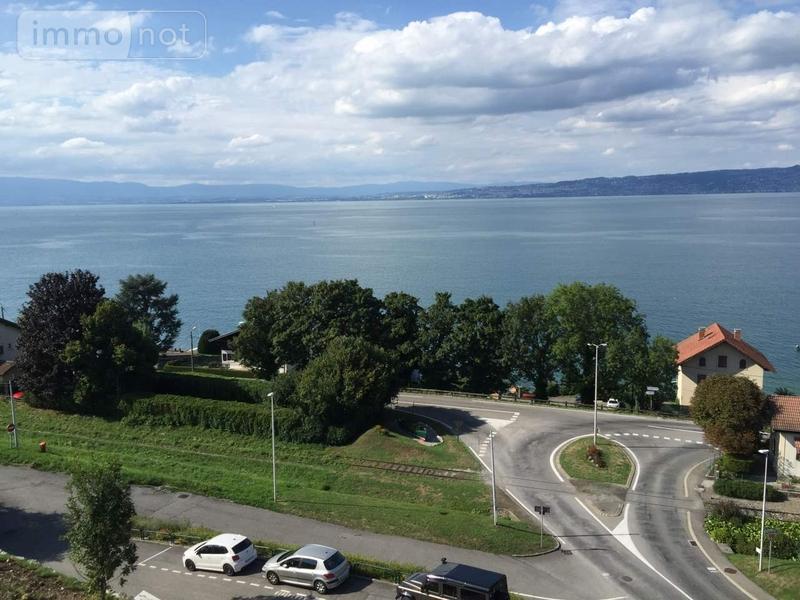 Appartement a vendre Lugrin 74500 Haute-Savoie 115 m2 3 pièces 440000 euros
