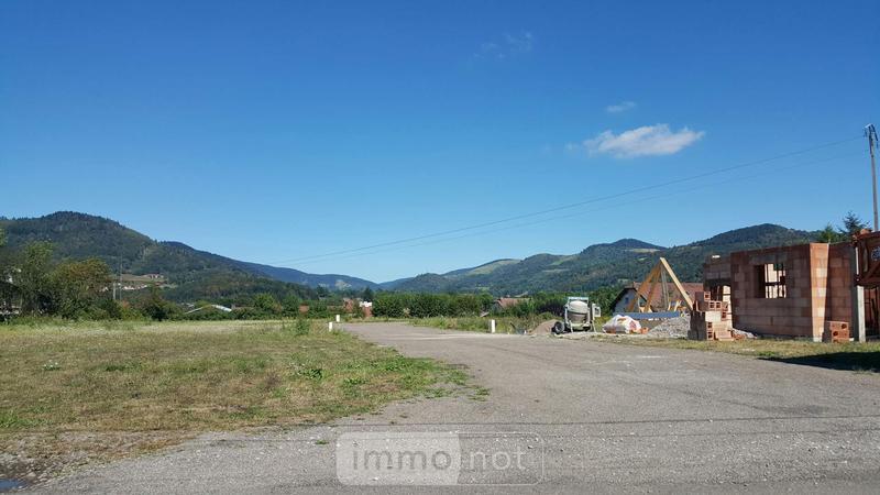 Terrain a batir a vendre Le Thillot 88160 Vosges 750 m2  31794 euros
