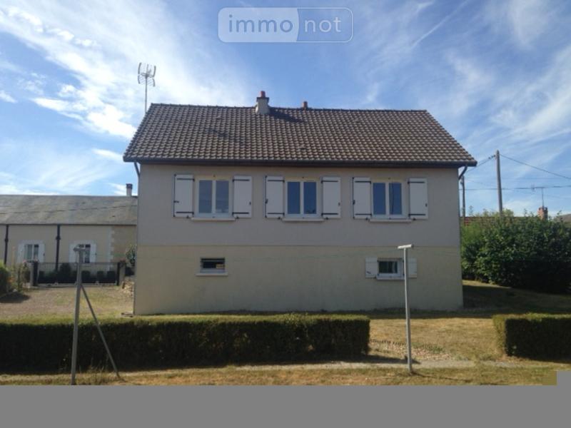 Maison a vendre Nouans-les-Fontaines 37460 Indre-et-Loire 85 m2 4 pièces 81500 euros