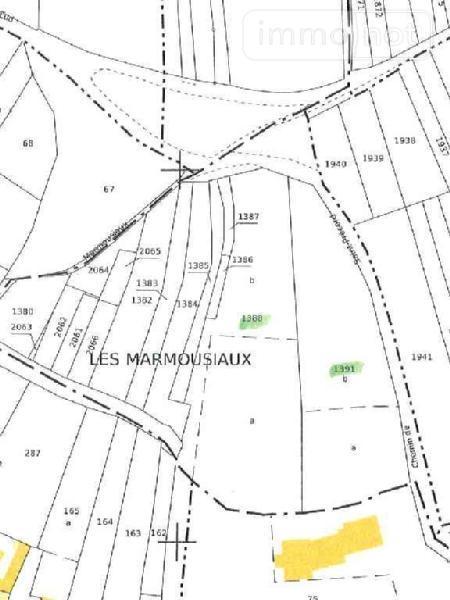 Terrain a batir a vendre Vailly-sur-Aisne 02370 Aisne 5885 m2  26340 euros