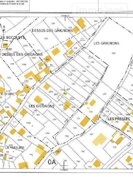 Terrain a batir a vendre Condé-sur-Aisne 02370 Aisne 587 m2  21200 euros