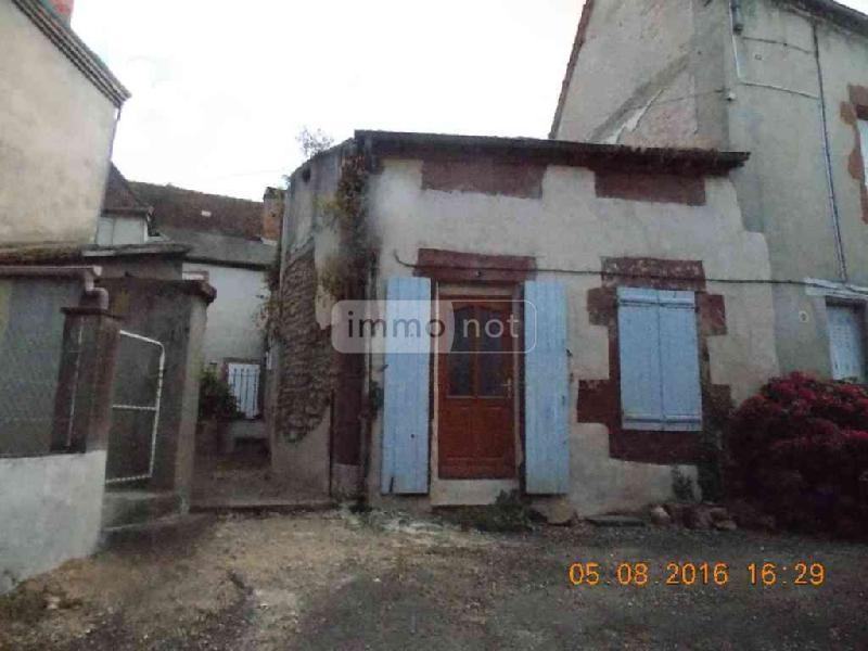 Maison a vendre Jaligny-sur-Besbre 03220 Allier 35 m2 1 pièce 15500 euros