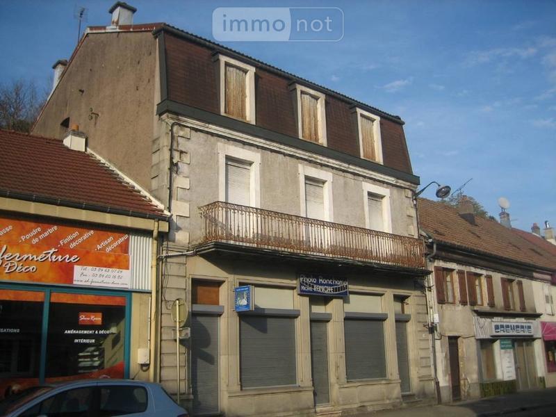 Immeuble de rapport a vendre Ronchamp 70250 Haute-Saone 200 m2  62140 euros
