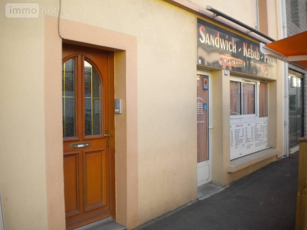 Fonds et murs commerciaux a vendre Locminé 56500 Morbihan  94072 euros