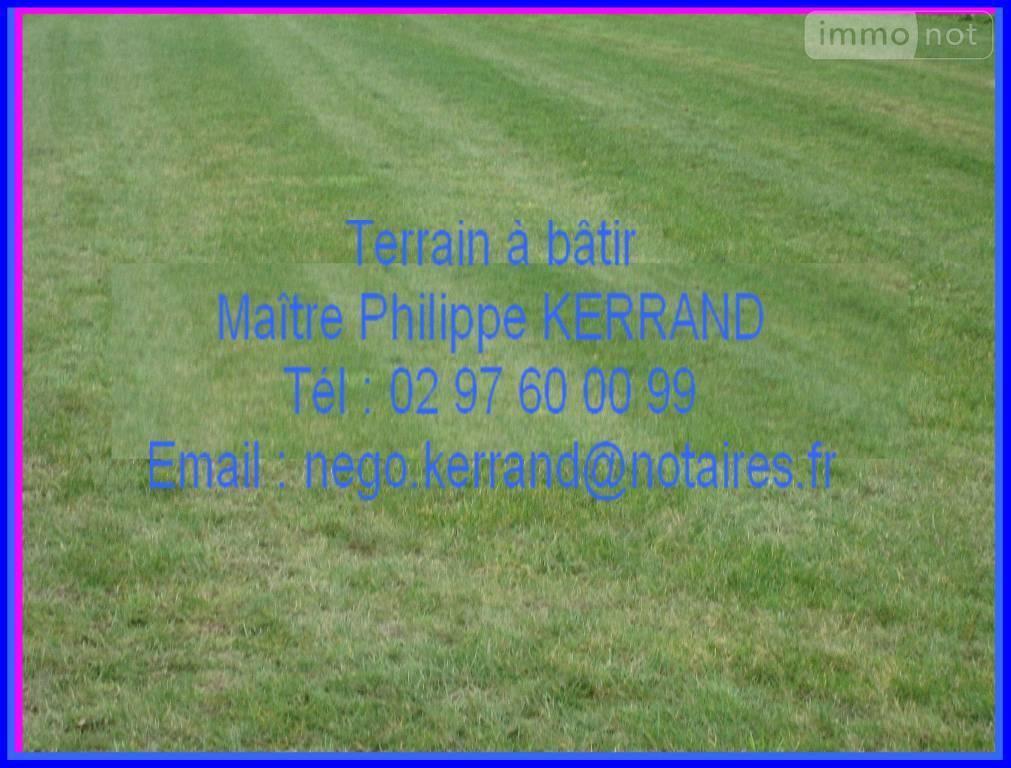 Terrain a batir a vendre Saint-Allouestre 56500 Morbihan 521 m2  13806 euros