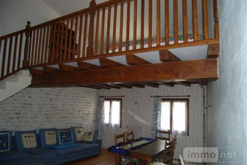 Maison a vendre Cherbonnières 17470 Charente-Maritime 113 m2 5 pièces 96132 euros