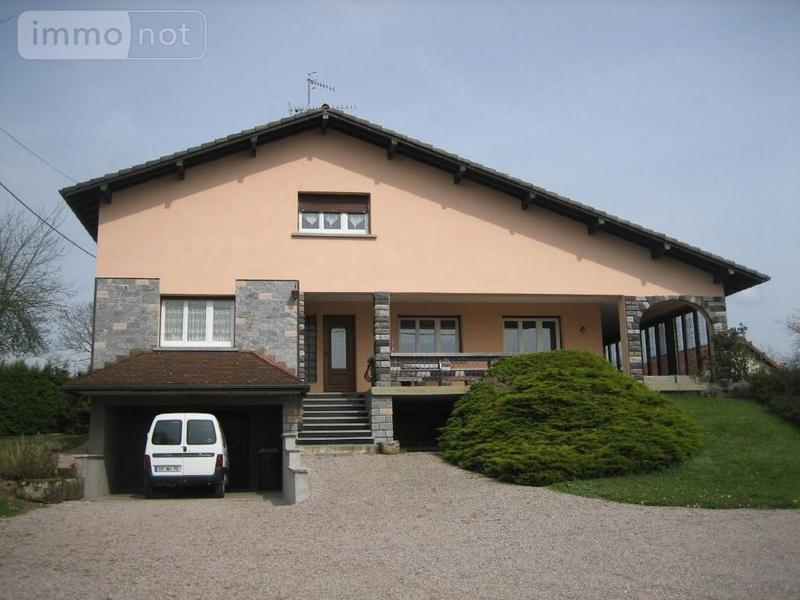 Maison a vendre Lantenot 70200 Haute-Saone 140 m2 8 pièces 207370 euros