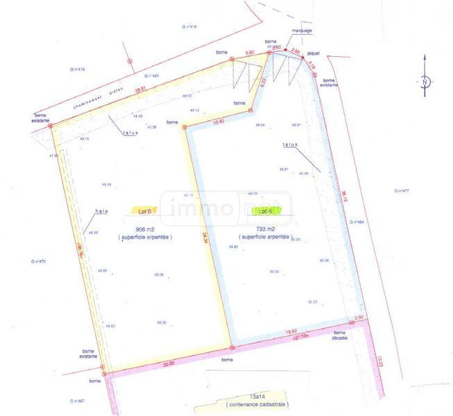Terrain a batir a vendre La Forêt-Fouesnant 29940 Finistere  75532 euros