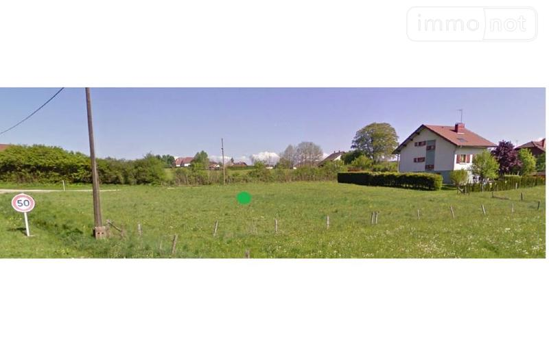 Terrain a batir a vendre Villeneuve-d'Amont 25270 Doubs  59200 euros