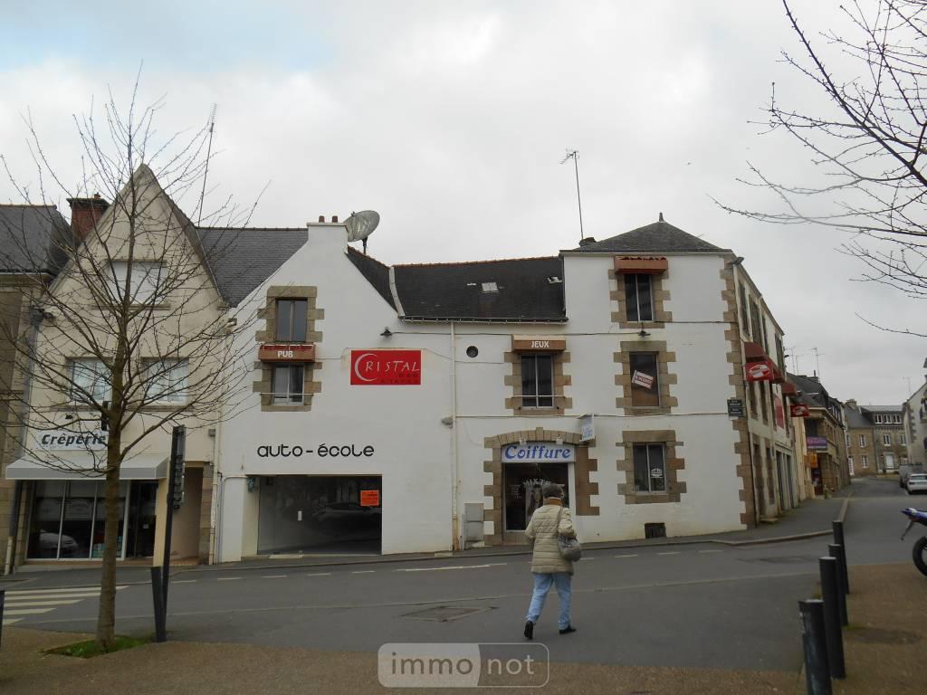Fonds et murs commerciaux a vendre Pontivy 56300 Morbihan 340 m2  213820 euros