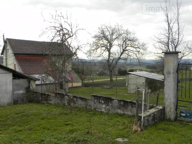 Maison a vendre Montécheroux 25190 Doubs 100 m2 4 pièces 131000 euros