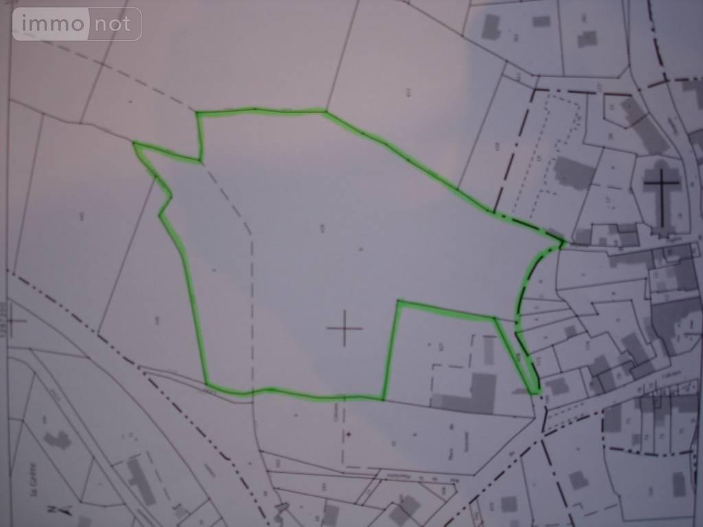 Terrain a batir a vendre Saint-Guyomard 56460 Morbihan 24539 m2  125000 euros
