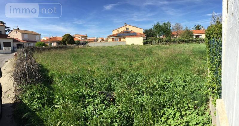 Terrain a batir a vendre Alénya 66200 Pyrenees-Orientales 664 m2  210000 euros