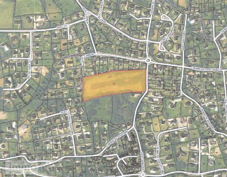 Terrain a batir a vendre Fouesnant 29170 Finistere 500 m2  80080 euros