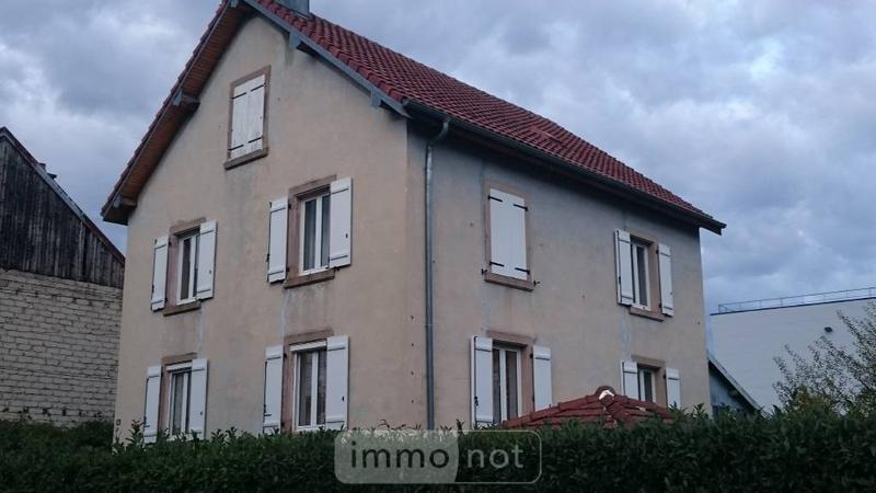 Maison a vendre Mandeure 25350 Doubs 169 m2 6 pièces 191000 euros